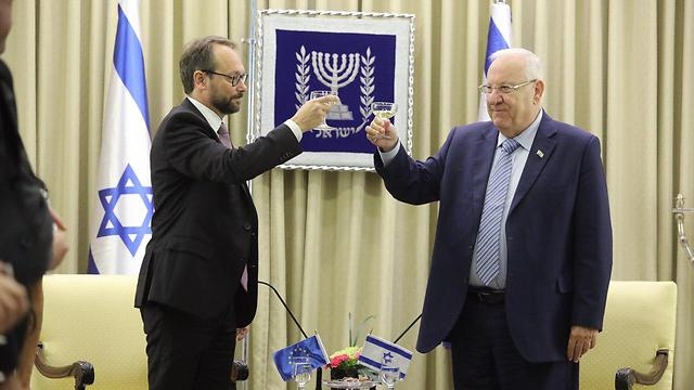 Israel should look to EU before West Bank annexation