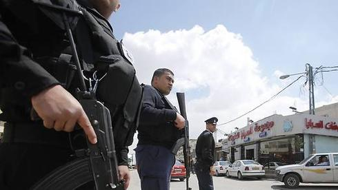 Palestinian police forces