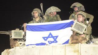 """חיילי צה""""ל בשטח ישראל אחרי הנסיגה"""