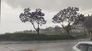 גשם בצפת