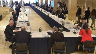 השולחן הארוך והברדק בישיבת הממשלה