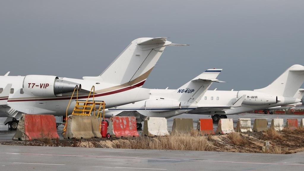 """המטוס הפרטי בנתב""""ג"""