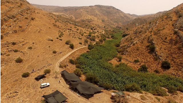 The Jordan Valley, near the Sea of Galilee