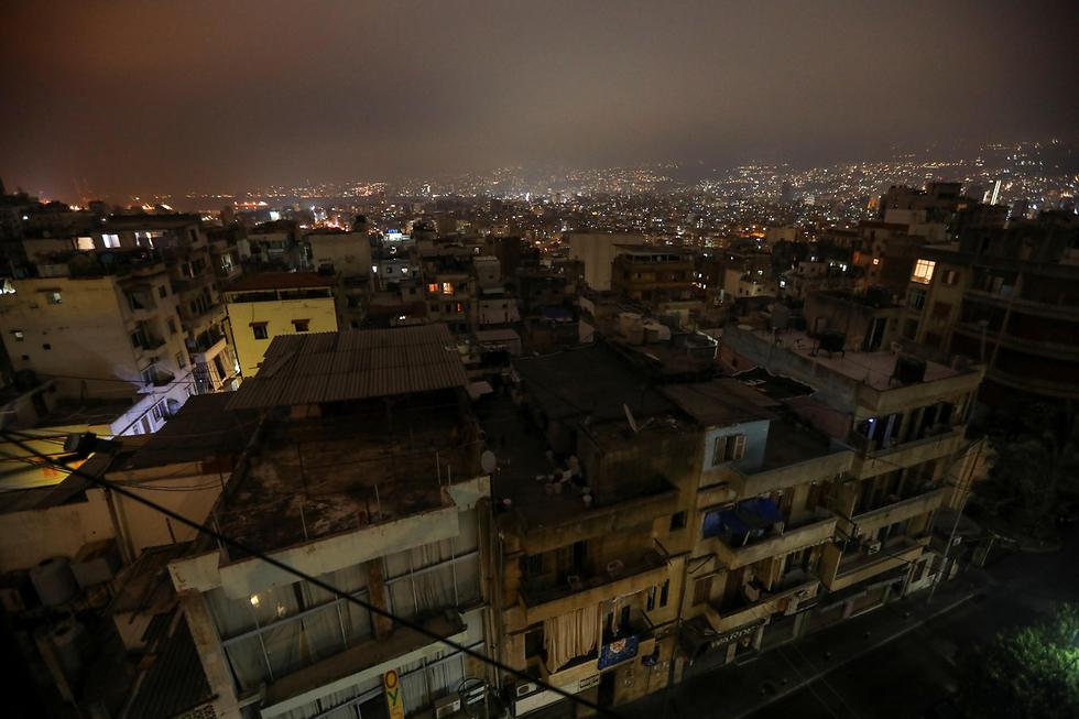 לבנון הפסקות חשמל ביירות
