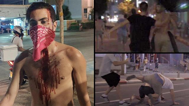 מפגינים נגד נתניהו הוכו בתל אביב