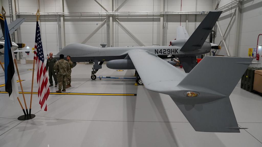 """כטב""""ם התקפי מתקדם  MQ-9 ריפר תוצאת ג'נרל אטומיקס סיסטמס"""