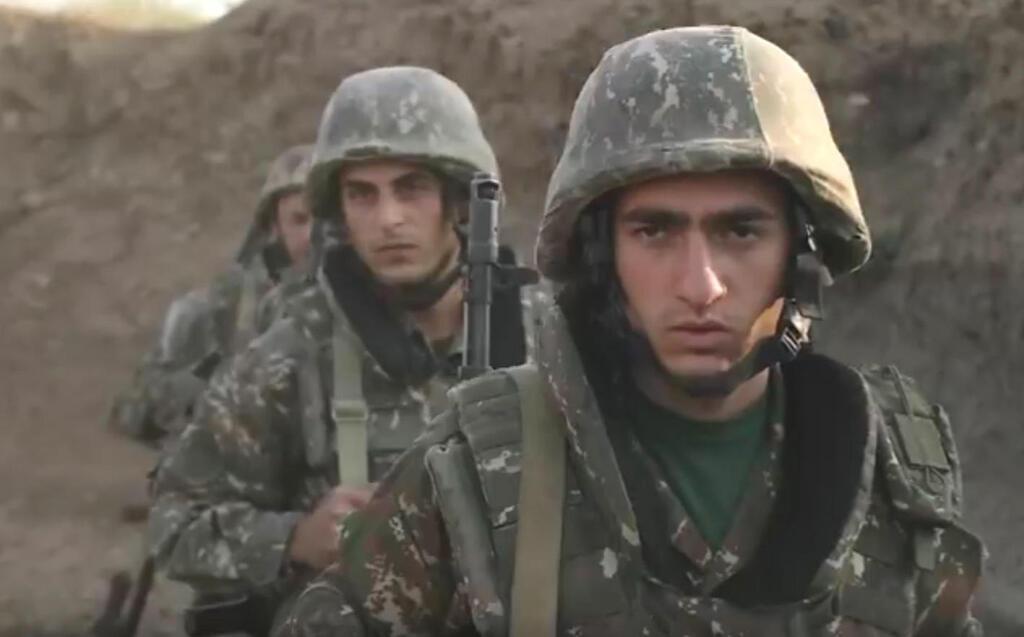 חיילים ארמנים נגורנו קרבאך אזרבייג'ן ארמניה