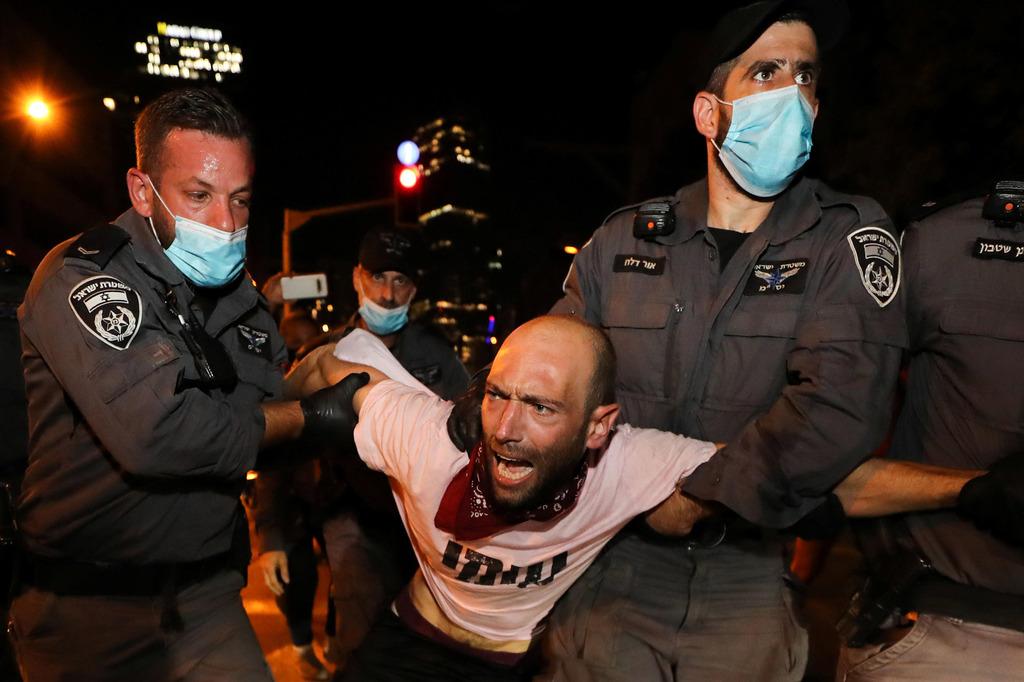 הפגנה נגד חוק הגבלת ההפגנות בהבימה