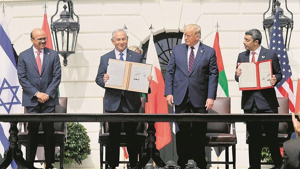 חתימת ההסכם עם איחוד האמירויות
