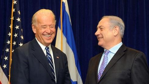 ג'ו ביידן ובנימין נתניהו