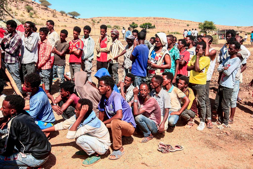 סודן מחנה פליטים אום ראקובה אתיופים ש ברחו מה מלחמה ב אתיופיה תיגראי