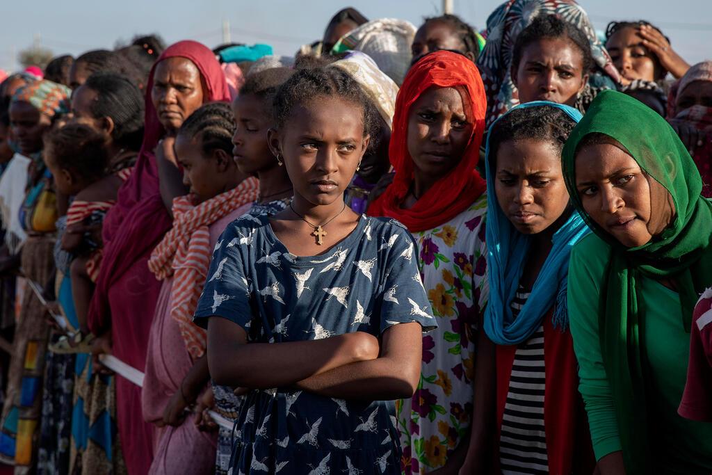 אתיופיה מלחמה ב תיגראי פליטים אתיופים ב סודן