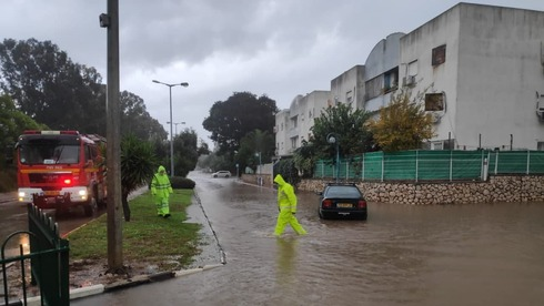 Storms bring heavy rain and floods across Israel