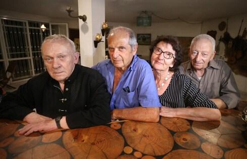 Aryeh Hanock, Sylva Zalmanson, Boris Penson and Eduard Kuznetsov in Israel in 2020
