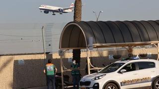 Plane lands at Ben Gurion Airport