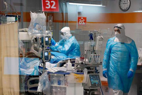 מחלקת קורונה בית חולים שיבא תל השומר