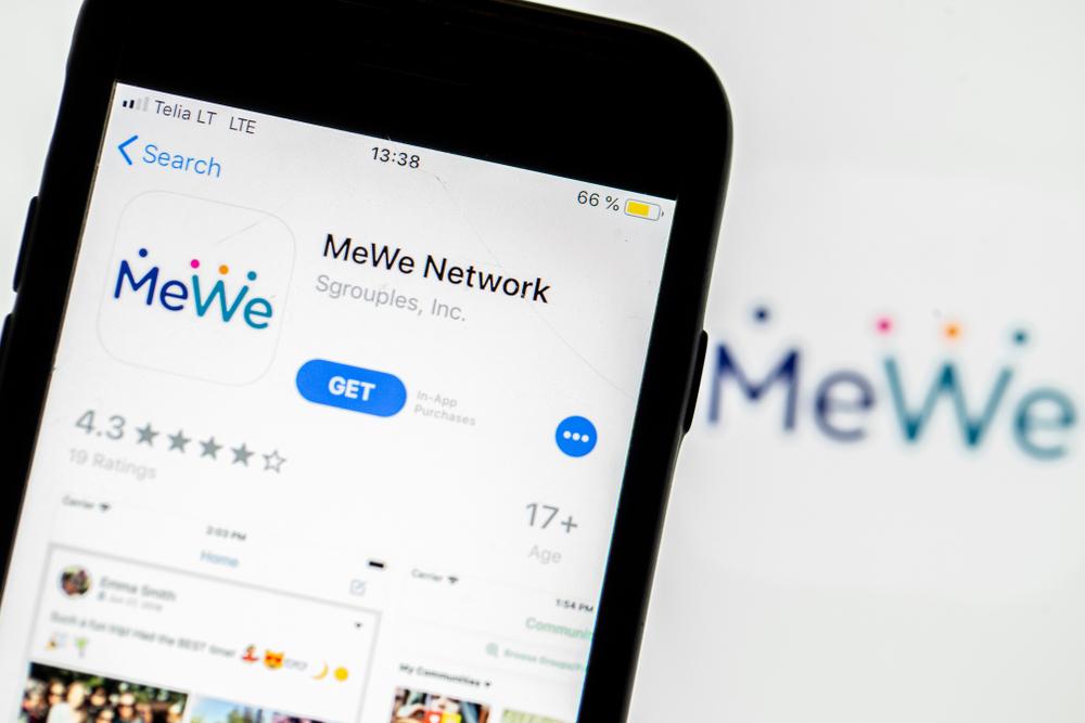 הרשת החברתית MeWe