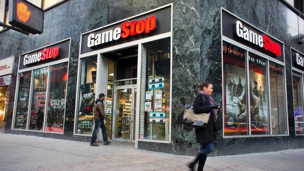 סניף של חנות המשחקים גיימסטופ