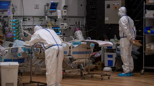 מחלקת קורונה בבית חולים בצפת