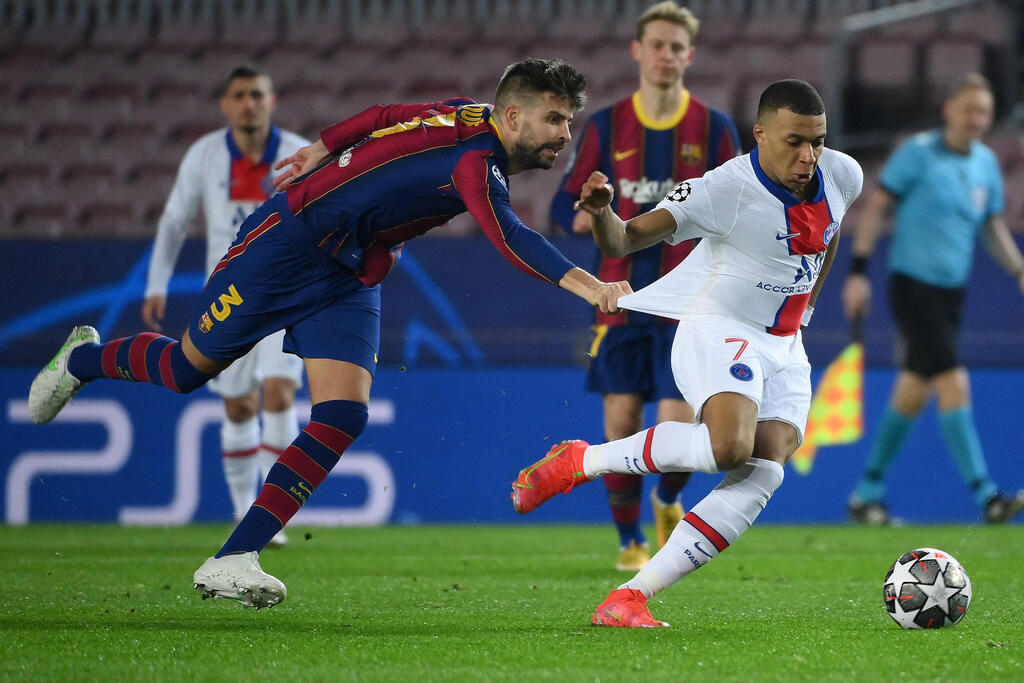 Killian Mbabane escapes from Gerard Pique