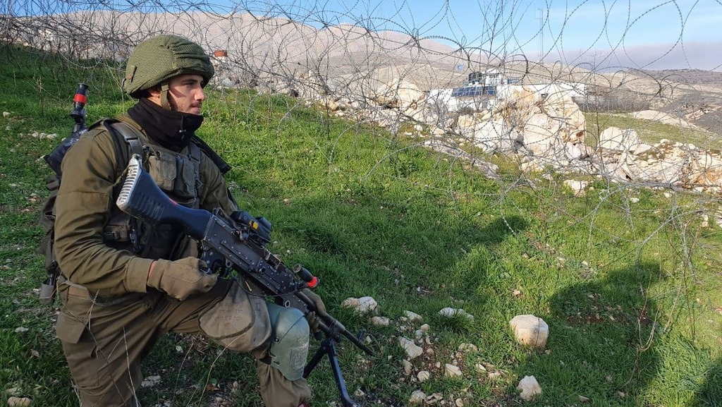 """IDF activity""""To beyond the Syrian fence"""