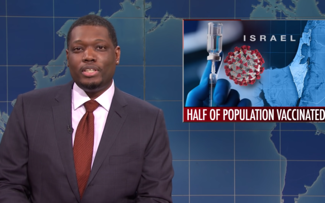 Saturday Night Live Weekend Update co-host Michael Che
