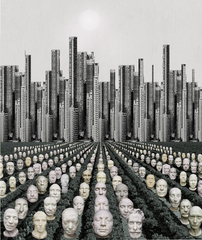 שדה קברות ועיר