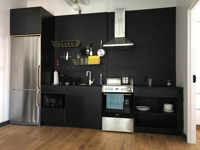 WeLive ניו יורק- מטבח בחדר אירוח