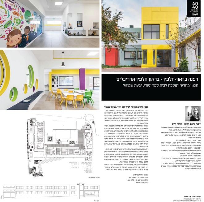 מקום 2: אדריכלית דפנה בראון על תכנון מחדש ותוספת בניה לבית ספר יסודי בגבעת שמואל