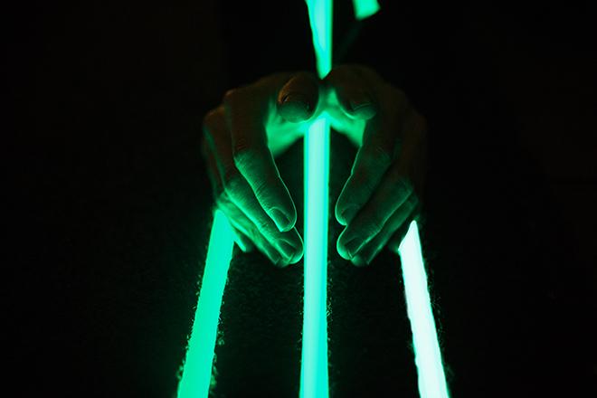11 Glowing Lines Roosegaardes