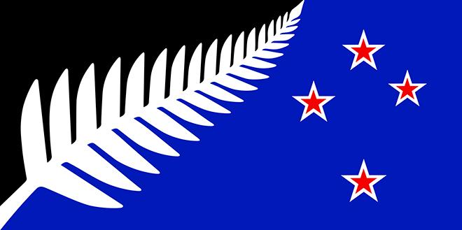עיצוב הדגל של ניו זילנד שזכה במקום הראשון / עיצוב: