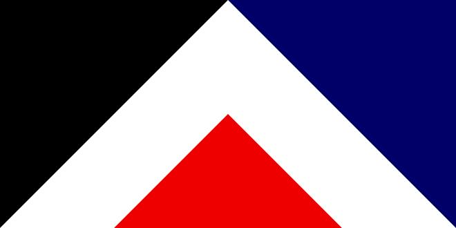 המקום השלישי, דגל שהמסמל את התרבויות בניו זילנד - בהשראת דפוסי tāniko האריגה מסורתי