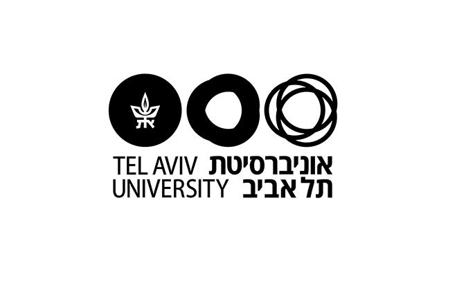 הלוגו של אוניברסיטת תל אביב, עם כיתוב בשתי שפות / עיצוב וקריאייטיב: אורי נווה, טל ברקוביץ', אסטרטגיה: עטרה בילר