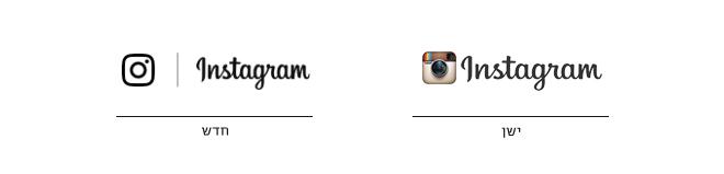 השימוש של הלוגו טייפ והאייקון באתר - כאן אין שימוש באייקון הצבעוני.