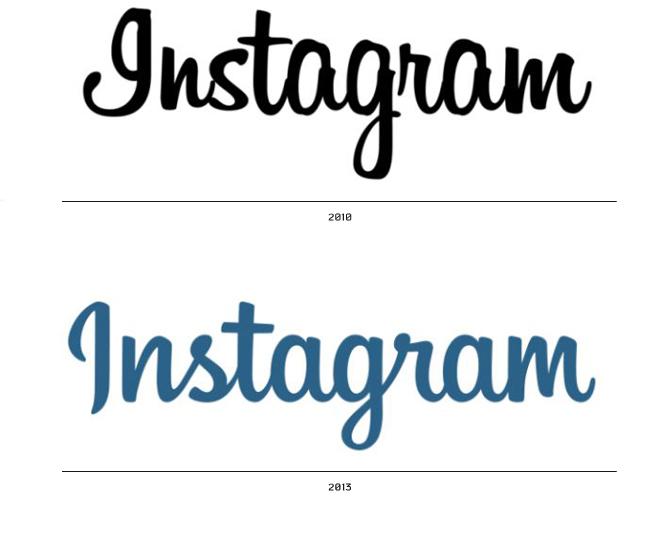 הלוגוטייפ שהשתנה ב2013 יחד עם הצבע הכחול שהתחלף לשחור