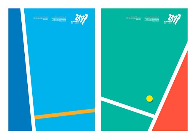 מתוך ספר המותג: גאומטריה עכשווית ושימוש נבון בצבעים, שפה איורית משובחת / עיצוב: איתי בלאיש