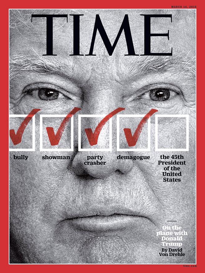 השער היחידי שחזה את העתיד לבוא, מגזין טיים / מרץ 2016