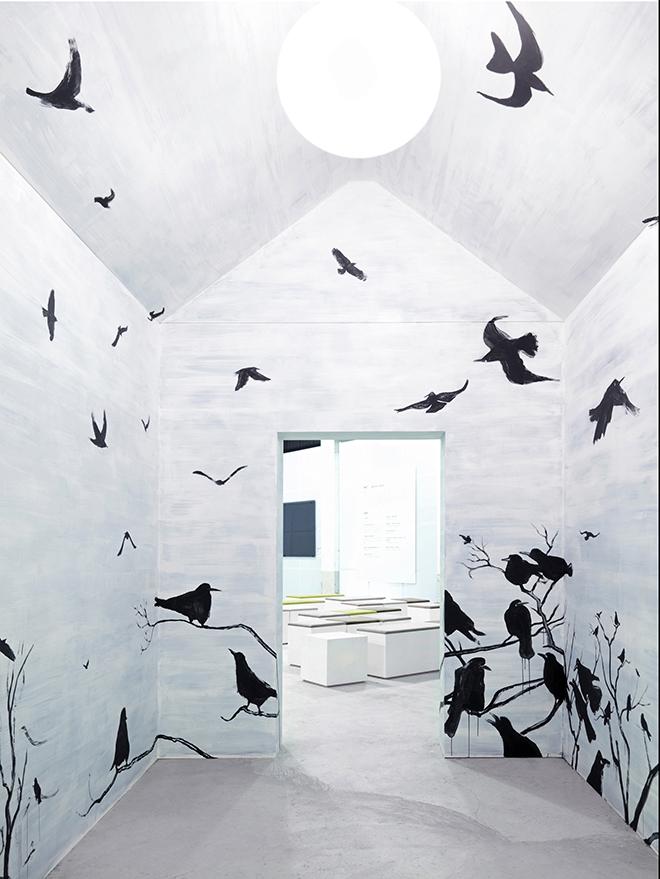 מתוך מיצב שהכין פגובסקי לתערוכה בטאיפי, 2007 / מקור: פיליפ פגובסקי