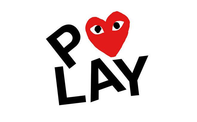 הלוגו לPLAY עבור קום דה גרסון / מקור: פיליפ פגובסקי