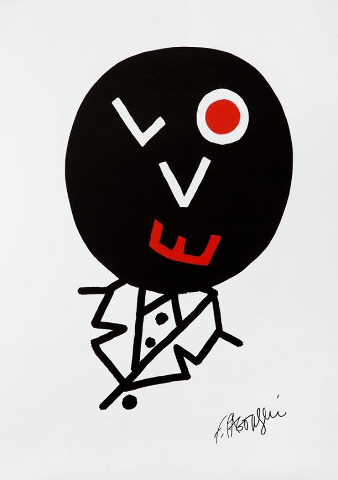 לוגו LOVE למותג אופנה