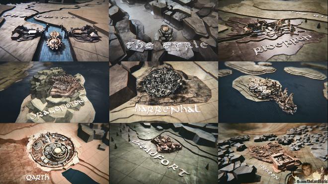 שמות הממלכות השונות והמבנים שהפכו לאייקונים בעולם האמיתי