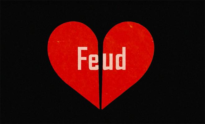 לוגו הסדרה Feud: Bette and Joan