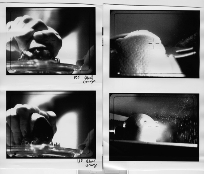 פריימים מתוך סט צילומי הפתחי של ״דקסטר״  / עיצוב: