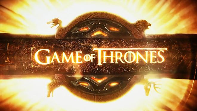 לוגו הסדרה ״משחקי הכס״ (בתרגום חופשי היא היתה צריכה בכלל להקרא בעברית: ״משחק הכסאות״)