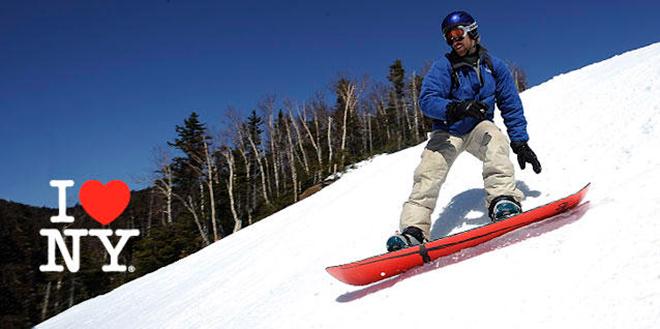 צילום מתוך אחד הקמפיינים לאתרי הסקי של מדינת ניו יורק