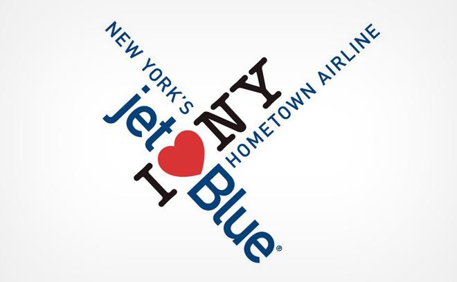 הלוגו המשולב של JetBlue ו