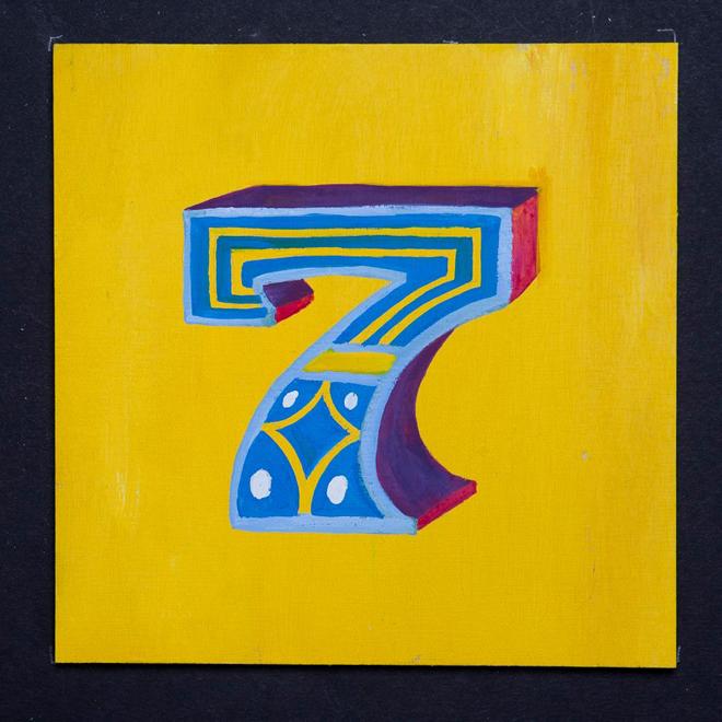 איור של אות לטינית בסגנון אינדי, חלק מפרוייקט: Lettering Time עבור ספר של Kaisa & Christoffer Leka הנקרא: Time After Time / 2014