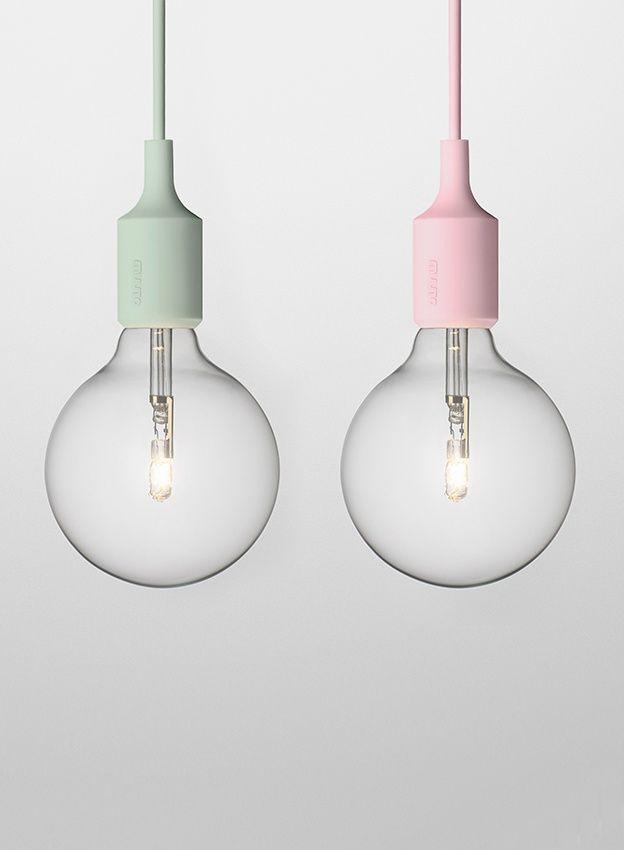 ורוד או ירוק? מנורות של Muuto
