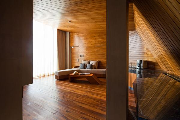 קווים ישרים. מתוך אתר המלון קאסה דה לה פלורה