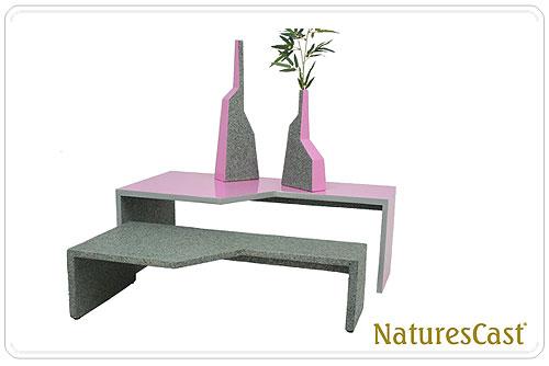 שולחן מענפים מתים. באדיבות NaturesCast